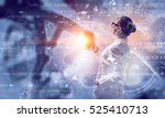 innovative technologies in... | Shutterstock . vector #525410713