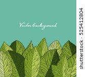 border element of detailed... | Shutterstock .eps vector #525412804
