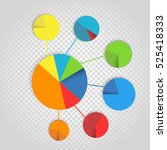 infographic elements collection....   Shutterstock .eps vector #525418333