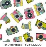 seamless pattern background... | Shutterstock .eps vector #525422200