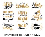 Vector Handwritten Christmas...