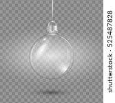 template of glass transparent... | Shutterstock .eps vector #525487828