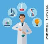 Medical Scientist Test Tube...
