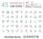 vector graphic set. artificial... | Shutterstock .eps vector #525495778