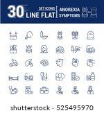 vector set graphic logo  icon.... | Shutterstock .eps vector #525495970