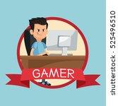 gamer computer online desk...