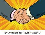 business handshake  partnership ...   Shutterstock .eps vector #525498040
