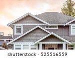 a perfect neighborhood. houses... | Shutterstock . vector #525516559