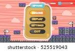 game assets element   user...   Shutterstock . vector #525519043