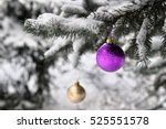Purple And Golden Christmas...