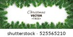 banner with vector christmas... | Shutterstock .eps vector #525565210