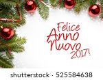 christmas decoration background ... | Shutterstock . vector #525584638