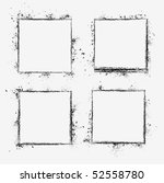 collection of grunge borders....   Shutterstock .eps vector #52558780