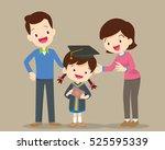 parents standing proud and...   Shutterstock .eps vector #525595339