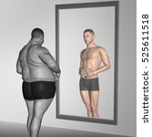 conceptual 3d illustration of... | Shutterstock . vector #525611518