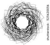 spirally abstract geometric... | Shutterstock . vector #525620056