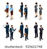 trendy isometrics  isometric... | Shutterstock .eps vector #525621748