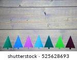 christmas background... | Shutterstock . vector #525628693