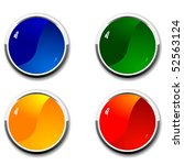 color buttons | Shutterstock .eps vector #52563124