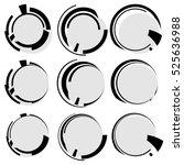 circular geometric shapes....