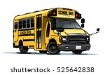 school bus color illustration | Shutterstock .eps vector #525642838