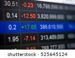 statistic graph stock market... | Shutterstock . vector #525645124