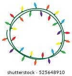 christmas lights | Shutterstock .eps vector #525648910