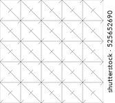 repeatable detailed grid  mesh... | Shutterstock . vector #525652690