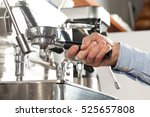 espresso coffe machine ... | Shutterstock . vector #525657808