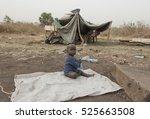 juba  south sudan   february 28 ... | Shutterstock . vector #525663508