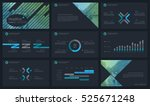 elements of infographics for... | Shutterstock .eps vector #525671248