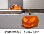 Jack O Lantern Pumpkin Head...