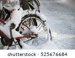 Snow On A Bicycle