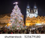 Prague On The Christmas