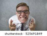 crossing fingers | Shutterstock . vector #525691849