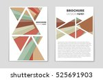 abstract vector layout... | Shutterstock .eps vector #525691903