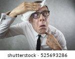 stressed entrepreneur | Shutterstock . vector #525693286