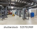 water treatment and heating... | Shutterstock . vector #525701989