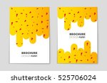 abstract vector layout... | Shutterstock .eps vector #525706024