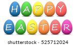 Rainbow Colored Easter Eggs...