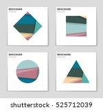 abstract vector layout... | Shutterstock .eps vector #525712039