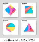 abstract vector layout...   Shutterstock .eps vector #525712963
