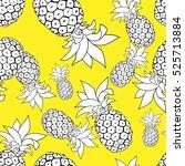pineapple | Shutterstock .eps vector #525713884