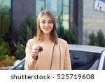 closeup portrait happy  smiling ... | Shutterstock . vector #525719608