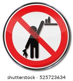 please keep products out of... | Shutterstock . vector #525723634