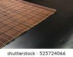 Brown Bamboo Mat   Stand Food ...
