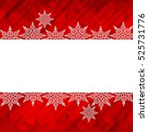 christmas background with... | Shutterstock .eps vector #525731776