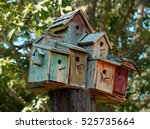 Whimsical Bird House Condo Mad...