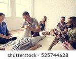 health wellness massage... | Shutterstock . vector #525744628
