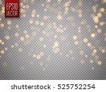 shining bokeh isolated on... | Shutterstock .eps vector #525752254